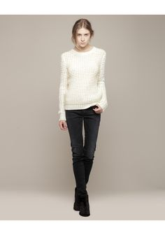 Acne / Lina Pinapple Sweater | La Garçonne