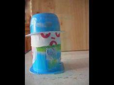 yogur. Reutilizar y jugar con los envases