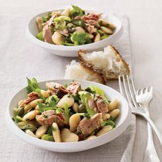 Butter Bean, Tuna and Celery Salad | Food & Wine