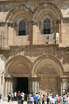 The Church of the Holy Sepulchre, The Tomb of Christ, Jerusalem.