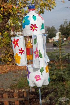 How to make a garden windmill? Jak zrobić ogrodowy wiatrak?