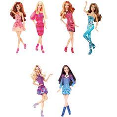 Barbie Fashionistas Süper Modeller - Toyzzshop.com