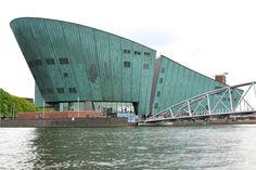 #travel #amsterdam #netherlands #holland #wanderlust #architecture #nemo
