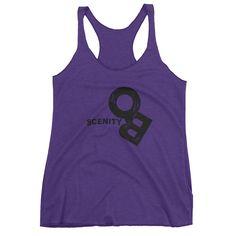 Obscene Women's Tank | Obscenity Logo Black