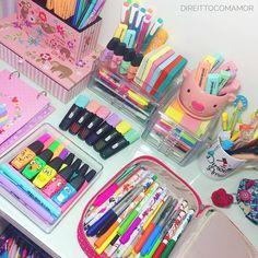 Stationary Store, Stationary School, School Stationery, Cute Stationery, Diy Pour La Rentrée, School Art Supplies, Stationary Organization, School Suplies, Too Cool For School