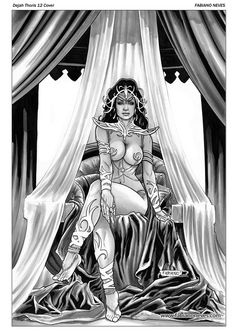 Dejah Thoris 12 Cover Art by FabianoNeves.deviantart.com on @deviantART