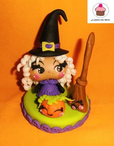 Sweet Witch for Halloween  Cake by Le Cupcakes della Marina