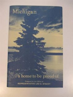 Vintage Tour Guide Michigan A Home to Be Proud of Travel Booklet BR 461 | eBay