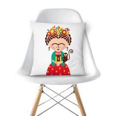 Compre FRIDA de @marivilas em almofadas de alta qualidade. Incentive artistas independentes, encontre produtos exclusivos.