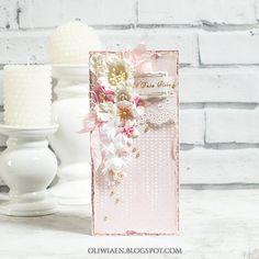CraftHobby Oliwiaen: Wedding card. Kartka ślubna