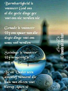 Special Words, Special Quotes, Evening Greetings, Goeie Nag, Angel Prayers, Goeie More, Inspirational Qoutes, Afrikaans Quotes, Living Water