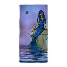 JKYUKO Balance Mermaid Fantasy Art Microfiber Beach Towel 70*140cm