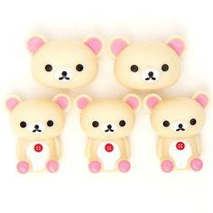 kawaii Rilakkuma white bear magnets by San-X @modes4u