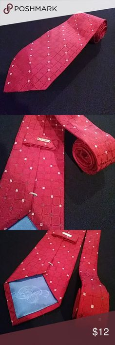 Bugatti Tie Red Luxury Woven Designer 100 Silk NEW UP FOR SALE IS A 100% AUTHENTIC BUGATTI TIE. IT IS 100% SILK AND IS NEW WITHOUT TAGS. MEASUREMENTS: 3-3/4 WIDE, 59-1/2 LONG. PLEASE MESSAGE ME WITH ANY QUESTIONS. MAKE ME A REASONABLE OFFER! BUNDLE UP 5 TIES OR MORE AND GET A 25% OFF DISCOUNT. Bugatti Accessories Ties