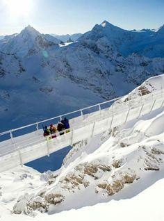 Titlis Cliff Walk, The Urner Alps, Switzerland