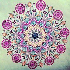 Mandala Coloring Pages - 23 Printable Mandalas to Color! — Art is Fun Mandala Design, Mandala Pattern, Zentangle Patterns, Zentangles, Mandala Doodle, Mandala Drawing, Doodle Art, Watercolor Mandala, Coloring Books