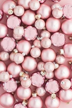 This collection of holiday styled stock images features monochromatic blush pink Christmas tree ornaments and greenery on a pink background. Grab the attention of your audience and drive sales this holiday season styled stock images! Overlay the Christmas Phone Wallpaper, Holiday Wallpaper, Pink Ornaments Wallpaper, Christmas Phone Backgrounds, Pink Wallpaper Christmas, Pink Christmas Tree, Christmas Tree Ornaments, Christmas Wreaths, Christmas Decorations