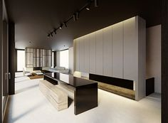 Penthouse MD in Brussels Belgium by Glenn Sestig Architects