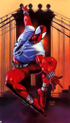 Scarlet Spider by Julie Bell