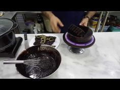 A Chocolate Treasure - How to make Chocolate Garnish - Decorations for Desert Plating - YouTube