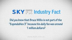 Check out our latest Industry Fact #Expendables3 #SkyFXSAS