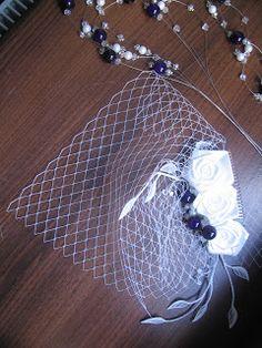 blueberry veil (handmade) Blueberry Wedding, Veil, Silver, Handmade, Jewelry, Hand Made, Jewellery Making, Jewerly, Jewelery