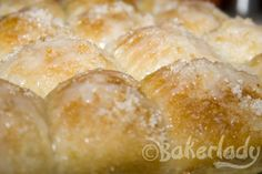 Lemon Monkey Bread - Bakerlady