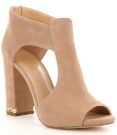 Shop for MICHAEL Michael Kors Sabrina Suede Open Toe Block Heel Peep Toe Sandals at Dillards.com. Visit Dillards.com to find clothing, accessories, shoes, cosmetics & more. The Style of Your Life.