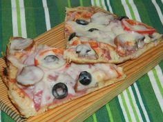 Retete culinare : Pizza la tigaie, Reteta postata de MotanLaOale in categoria Pizza