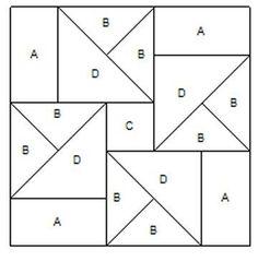 Sewing Block Qults Billedresultat for barn quilt patterns, stencil Barn Quilt Designs, Barn Quilt Patterns, Paper Piecing Patterns, Patchwork Patterns, Pattern Blocks, Quilting Designs, Quilting Patterns, Patchwork Ideas, Pattern Paper