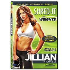 Jillian Michaels: Shred-It With Weights (Full Frame)