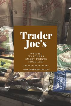 Here's the best Trader Joes Weight Watchers food list that includes weight watchers smart points values, preparation, and food reviews.