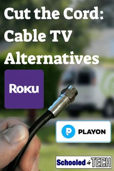 Cut the cord to your expensive TV cable subscription. In this guide I'll show you how to still watch (stream) and record (DVR) the shows your family cares about using a digital antenna, Roku's, and PlayOn. Roku Streaming Stick, Streaming Tv Shows, Tv Hacks, Netflix Hacks, Tv Without Cable, Cable Tv Alternatives, Kodi Live Tv, Tv Options, Tv Cords