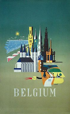 Belgian travel poster by Unknown, 1965