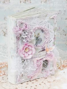 Творческий блог Тани Bjorn: Мой любимый... мини-альбом с Феей и бабочками