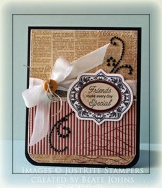 Your Special Day Card designed by Beate Johns.