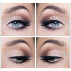 How To Create The Perfect Cat Eye ❤ liked on Polyvore featuring beauty products, makeup and eye makeup