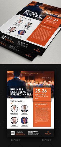 Conference Flyer V11 - Events Flyers