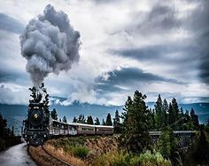 Kettle Valley Steam Railway in Summerland, British Columbia. Engine 3716 is a restored 1912 steam locomotive. Zug Wallpaper, Train Wallpaper, Full Hd Wallpaper, Scenery Wallpaper, Wallpaper Backgrounds, Desktop Wallpapers, Smoke Wallpaper, Computer Wallpaper, Train Tracks