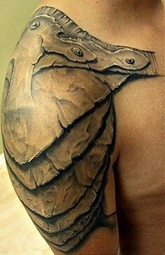 Gladiator armor. this would be good over top of my cross!