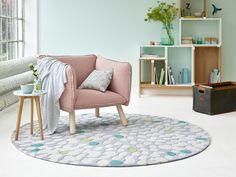 #esprit #homeliving #spring #livingroom #carpet #plaid #pattern #pastels #softtones