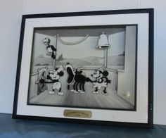 Steamboat Willie 1928 Animated Animation 3D Electro-mechanical