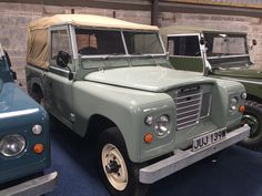 Visit our Indoor Showroom – Abergele, North Wales Viewing strictly by appointment only, call to arrange today. We have stock from the earliest 1948 Series 1 Land Rovers to the 2016 Final Edition Heritage Defenders. Land Rover Serie 1, Land Rover Defender, Visit Wales, Off Road, Land Rovers, North Wales, Land Cruiser, Night Life, Showroom