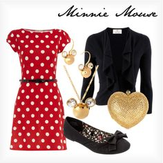 """Minnie Mouse"" by elliekayba on Polyvore"