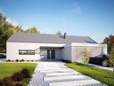 Projekt domu Alfi 158,86 m2 - koszt budowy - EXTRADOM House Plans, Pergola, House Design, Interior, Outdoor Decor, Home Decor, Architecture, House, Decoration Home
