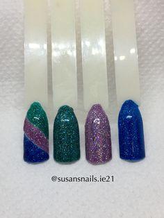 Nail art - glitter gels overview