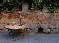"""Tavolino da caffè + Lampada da tavolo """"profilo"""""""