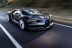 O superesportivo foi apresentado no Salão de Genebra e vai de 0 a 100 km/h em impressionantes 25 segundos  continue lendo em Bugatti Chiron com 1521 cv é o mais potente carro de rua do planeta