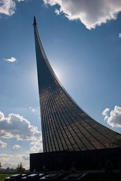The Russian Monument to Space Exploration