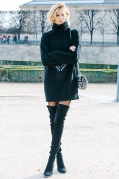 Anja Rubik à la Fashion Week